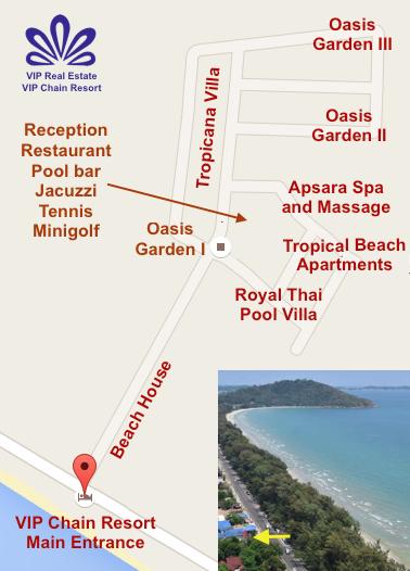 VIP Chain Resort Map RAW