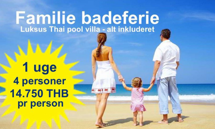 Family Beach Holiday package tour VIP Real Estate Mae Rampheung Beach Rayong Thailand