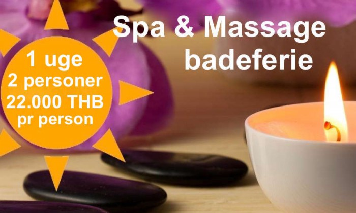 Spa and Wellness package tour VIP Real Estate Mae Rampheung Beach Rayong Thailand