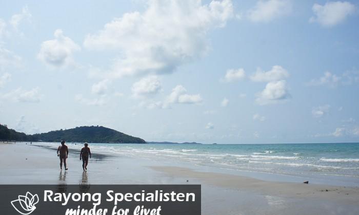 God gåtur langs en 12 km lang sandstrand
