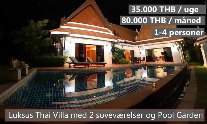 D Thai Pool Villa in VIP Chain Resort Rayong