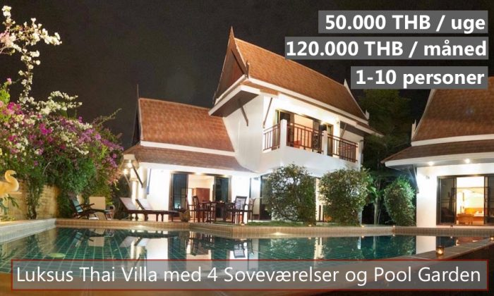 D Thai Pool Villa in VIP Chain Resort Rayong Thailand