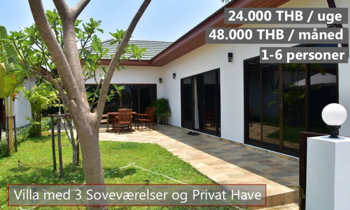 D Tropicana Villa in VIP Chain Resort rayong Thailand