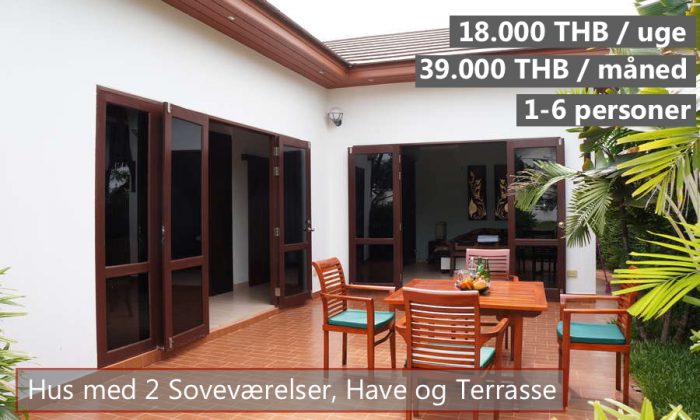 D Tropicana Villa in VIP Chan Resort Rayong Thailand