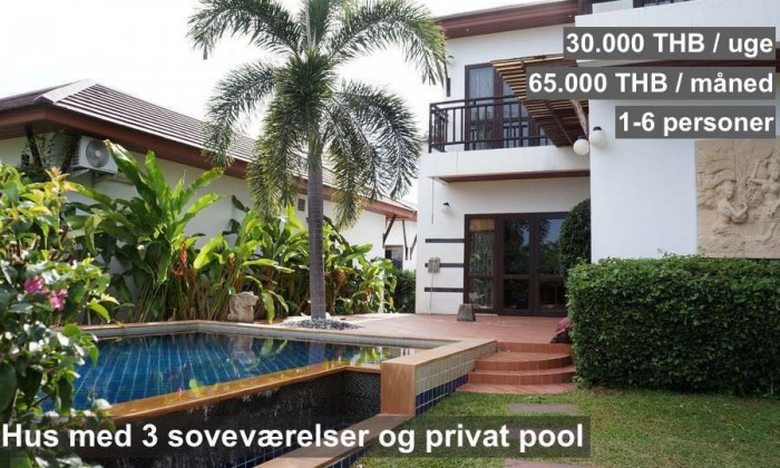 NR 11 R15 Tropicana Pool Villa 3 bedrooms