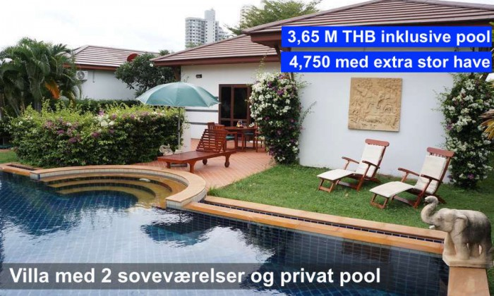 NR 9 R14 Tropicana Pool Villa 2 bedrooms
