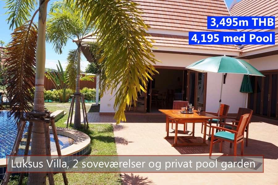 Thai Pool Villa in VIP Chai Resort Rayong Thailand
