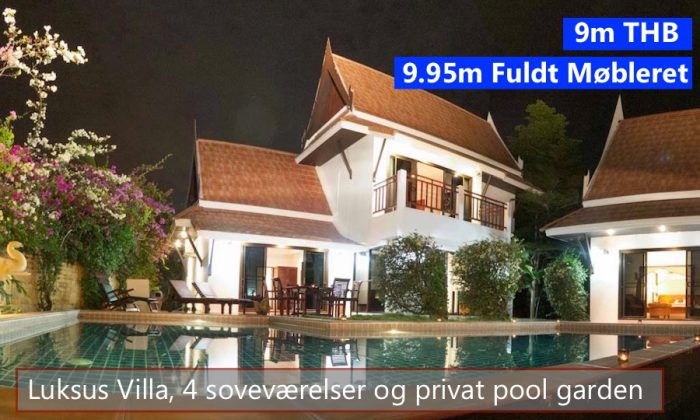 Thai Pool Villa in VIP Chain Resort Rayong Thailand