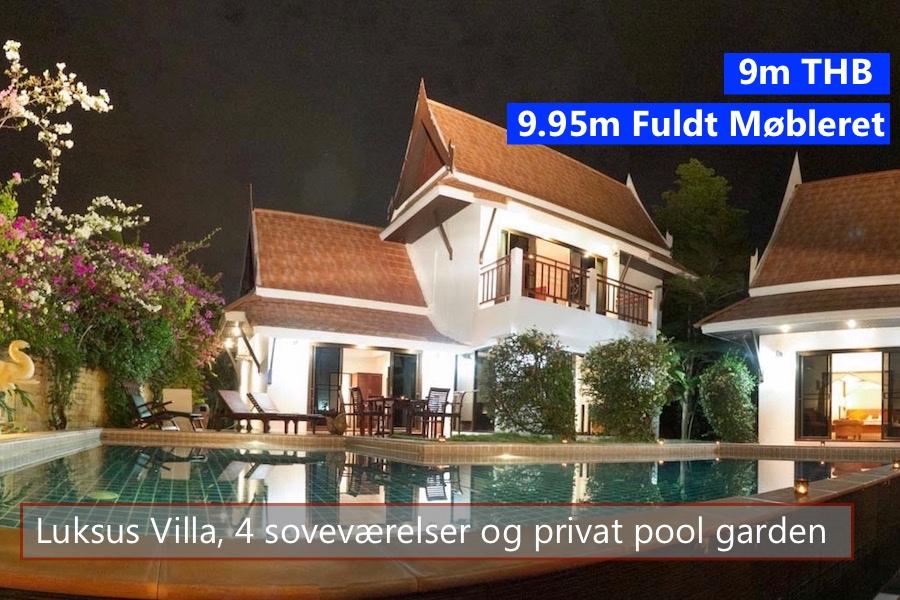 Thai Pool Villa in VIP Chain Resort Rayong Thailand