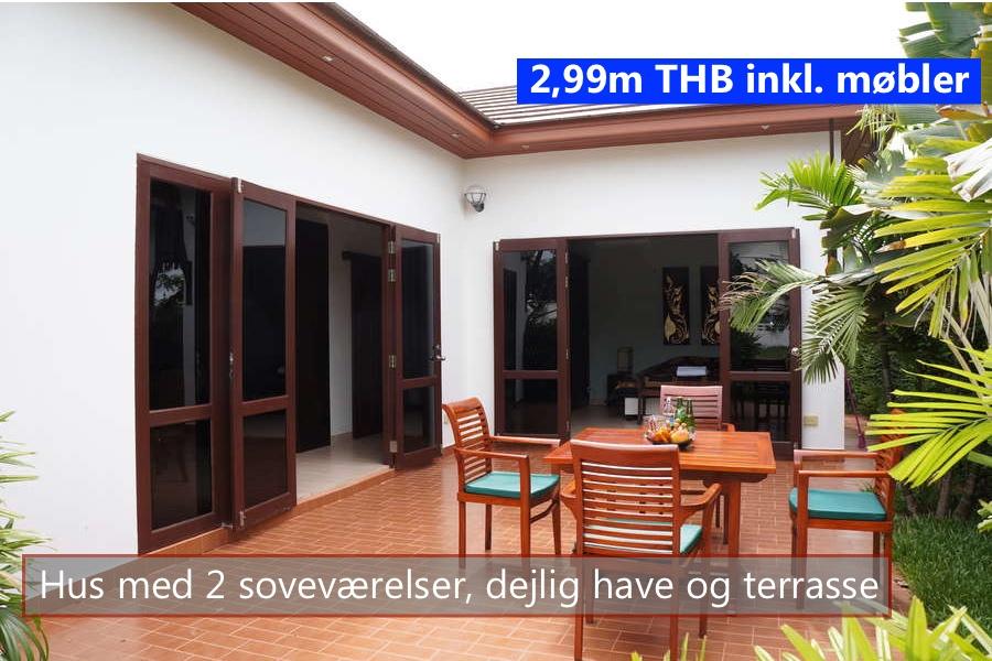 Tropicana Villa in VIP Vahin Resort Rayong Thailand