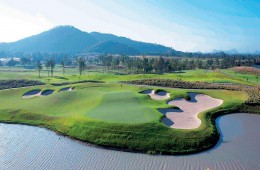 Siam country club tæt ved Rayong
