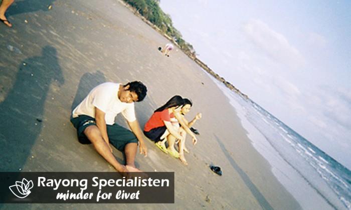 De mange thaier der nyder stranden i Rayong