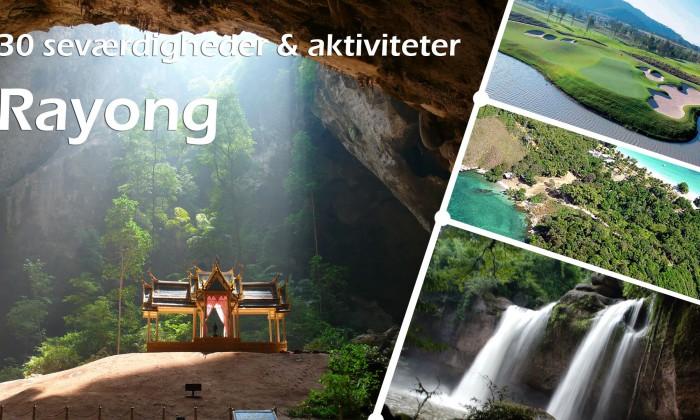 30 seværdigheder og aktiviteter i Rayong