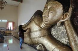 Wat Pa Pradu - minde for Taksin